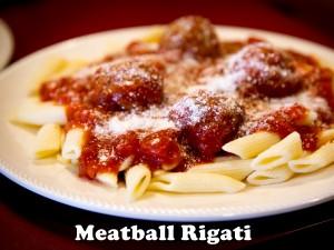 Meatball Rigati